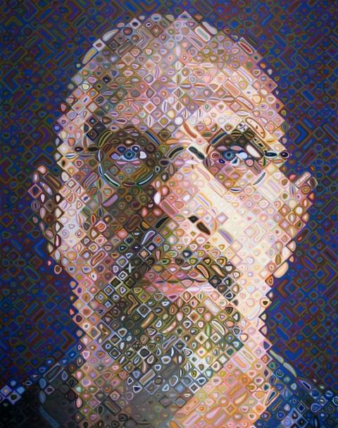 Collaboration célèbre | Chuck Close & Philip Glass