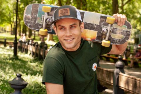 The Skateboarding Globetrotter 2