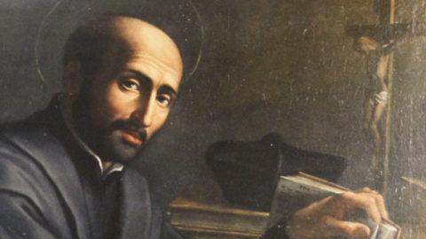 Saint Ignatius de Loyola par Domenichino