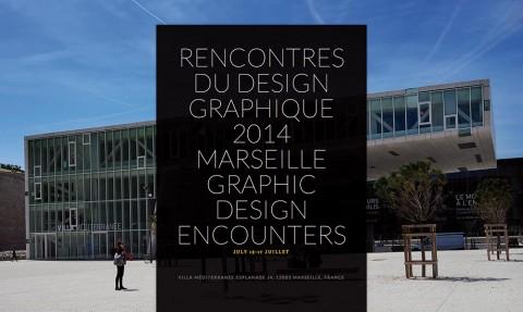 Rencontres du Design Graphique | Marseille 2014