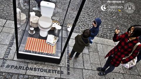 Parlons Toilettes | Esplanade du Centre Georges Pompidou