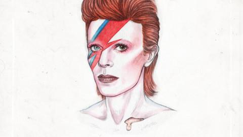 Cinquante ans de Bowie dans un Gif…