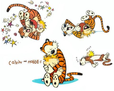 Calvin et Hobbes, ou l'art du Strip…