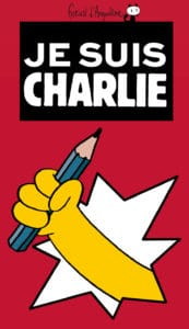 Affiche Angouleme Jesuischarlie