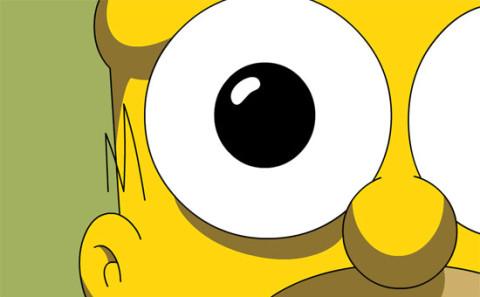 Promotion canapé pour les Simpson…