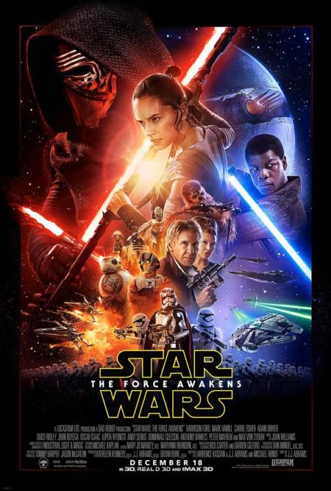 Star Wars à l'affiche : Le réveil de la Force
