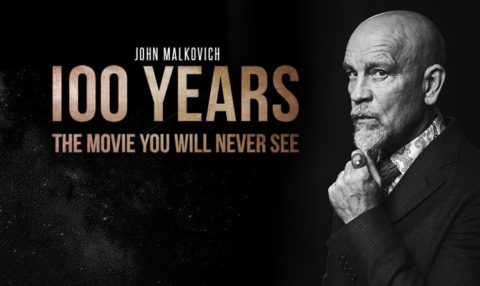 Le nouveau film de John Malkovitch… qui sortira dans 100 ans