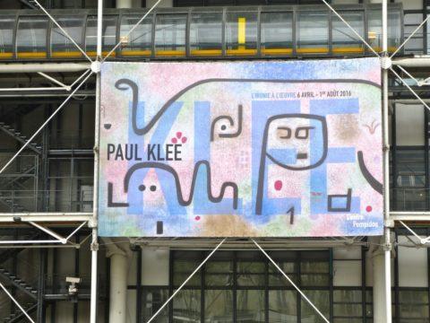 Rétrospective Paul Klee au Centre Pompidou (du 6 avril au 1er août 2016)