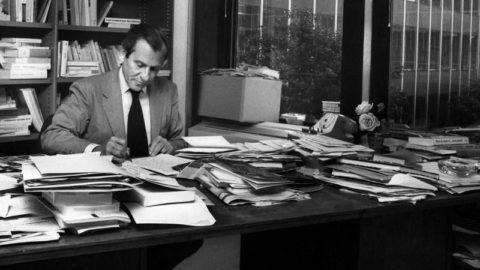 La première chronique de Jean d'Ormesson publiée dans Le Figaro en 1969