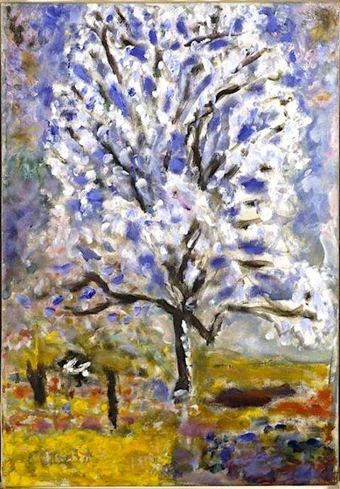 nietzsche- bien et mal Instant-City-Peinture-Pierre-Bonnard-Lamandier-en-Fleurs-1946