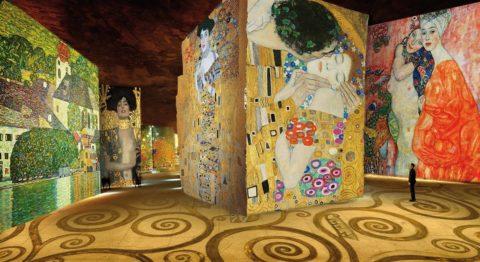 Klimt en images à l'Atelier des Lumières