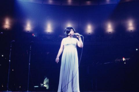 Aretha Franklin à l'Olympia en 1968