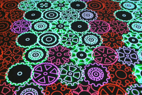 Miguel Chevalier : Onde Pixel 2016