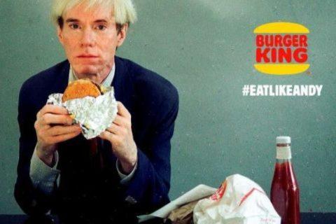 Quand Burger King invite l'Amérique à manger comme Andy