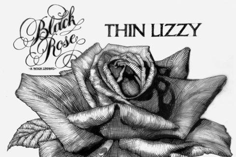 Quand Jim Fitzpatrick créait la pochette de l'album « Black Rose, a Rock Legend »