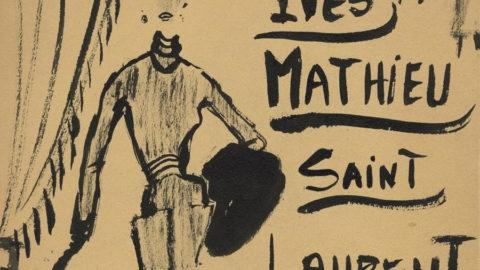 La jeunesse d'Yves Saint Laurent