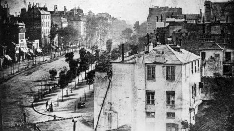 Boulevard du Temple, Paris (1838) by Daguerre