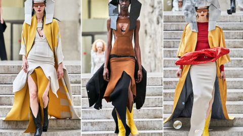 Rick Owens : Collection Aztec Printemps-Eté 2020